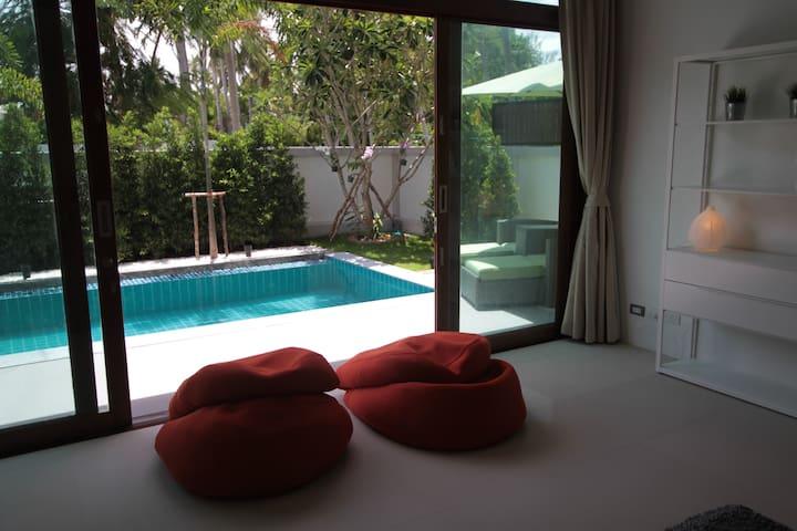 Master Bedroom Leading To 10 Metre Swimming Pool