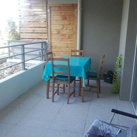 Appartement T3 spacieux 2 chambres Terrasse