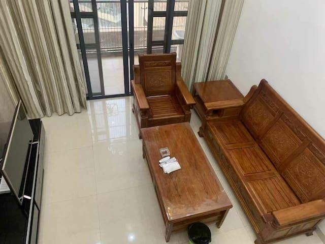 新中式豪华(loft)复式两房一厅