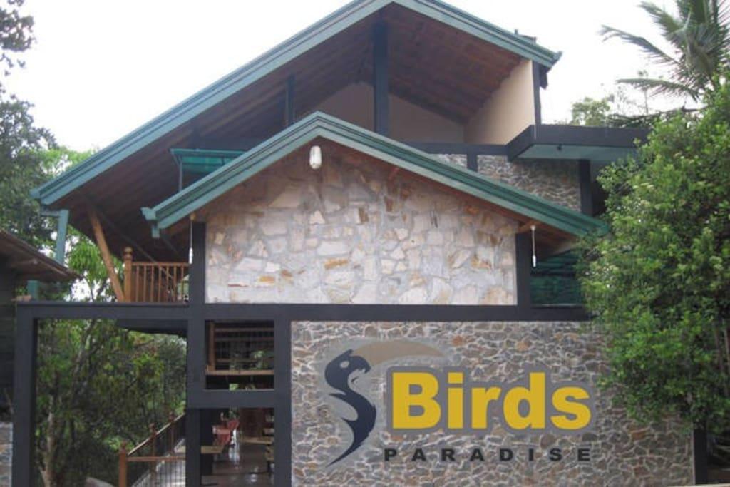 Birds Paradise Hotel Entrance