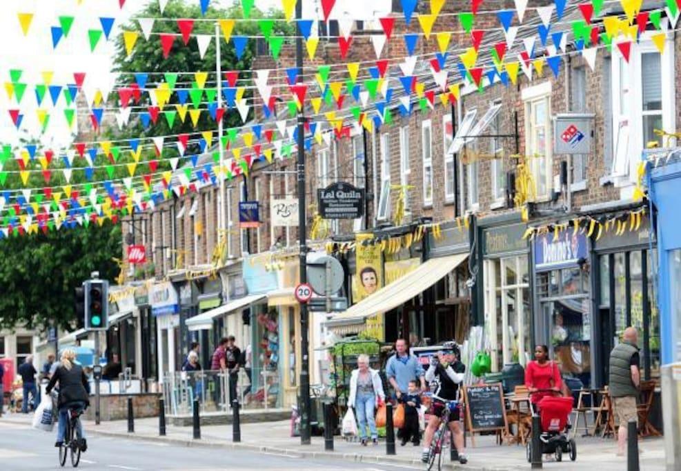 The UK's number 1 street - Bishopthorpe Road
