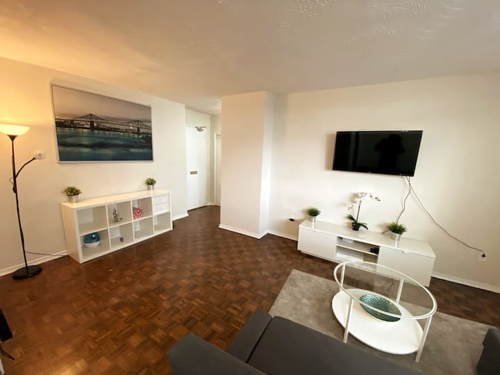 Comfy, Clean, spacious one bedroom Apartment
