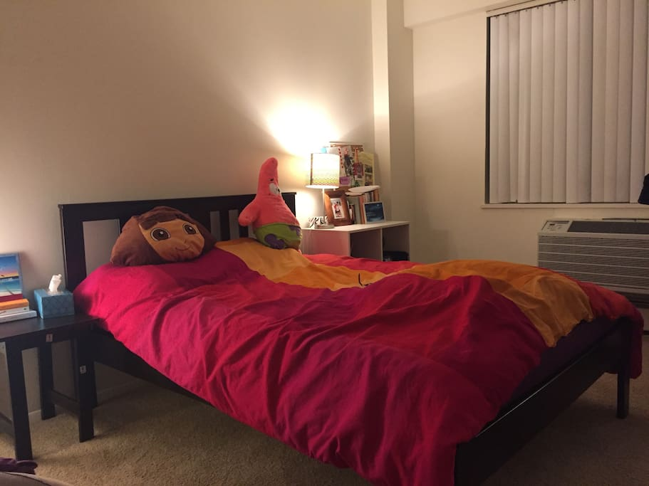 Bedroom- Full size bed
