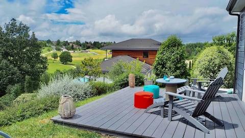 Au calme, 2 mn Périgueux, jardin, parking, WIFI