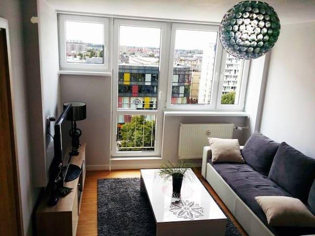 Kaskada Centrum Apartment - Pearl - Szczecin - Apartamento