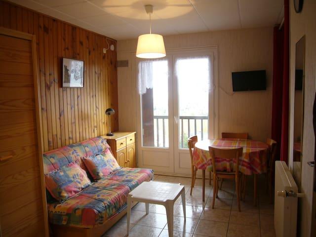 Appartement studio pied des pistes Rés. du Lac