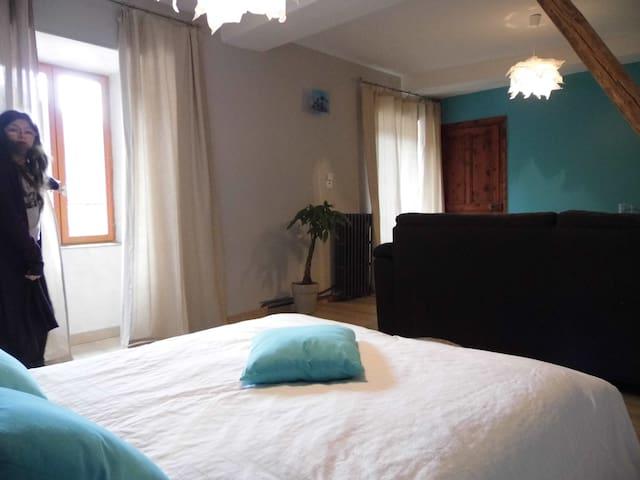 L'Atelier S chambre PIA - Bagnols-les-Bains - Pension
