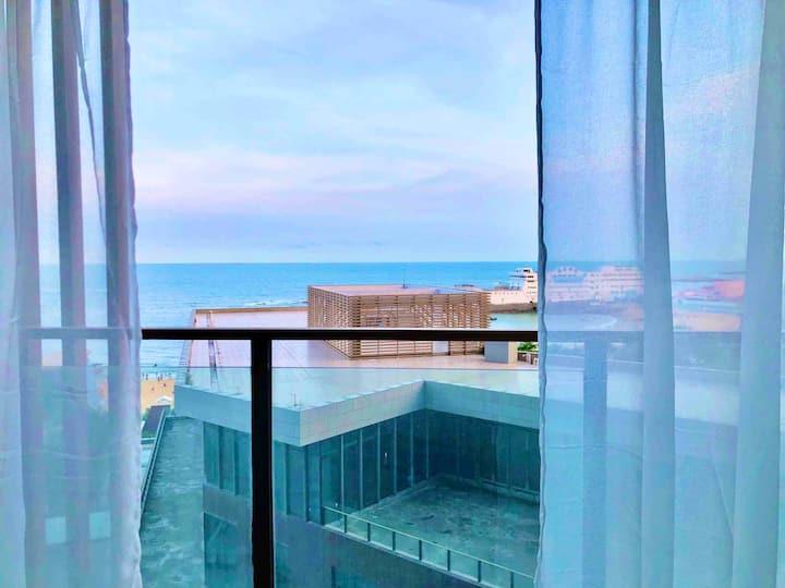 石狮市黄金海岸欢乐海洋公寓一线海景房