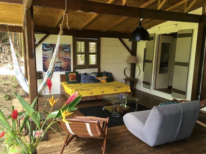 Magnifique villa créole ST CLAUDE