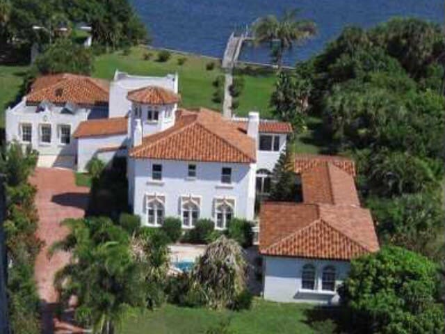 Water front historical estate. - Lake Worth - Rumah