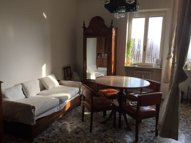 A guest room for the visitors of piacenza