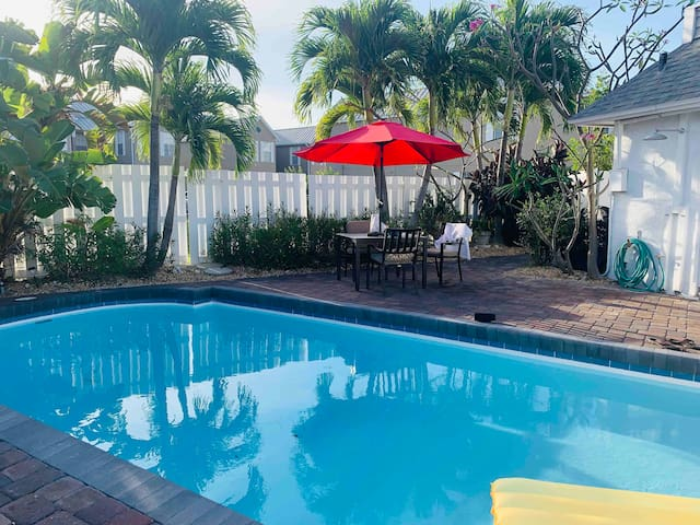 Fabulous 3 Bedroom Home Steps From the Beach