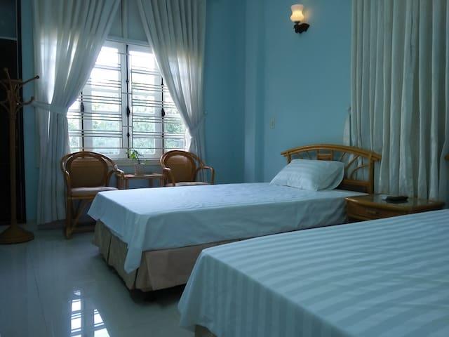 Private room 02 single begs - Hue Villa Homestay