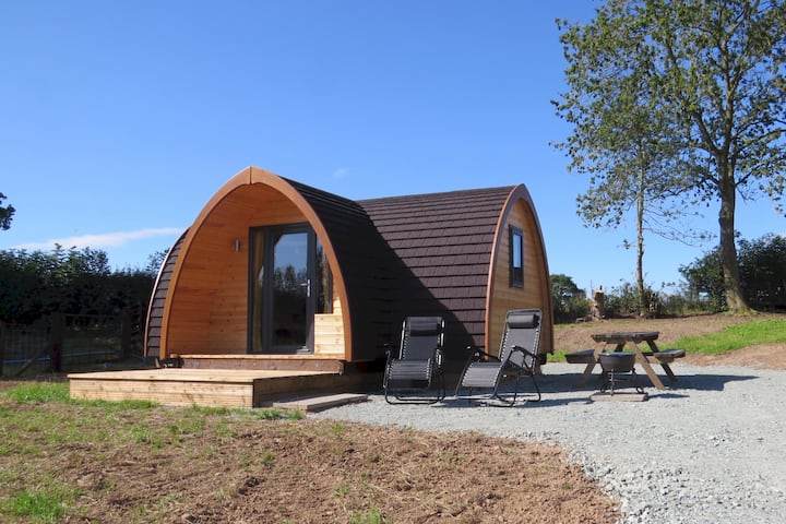 Cheshire View glamping in Shropshire's lake lands