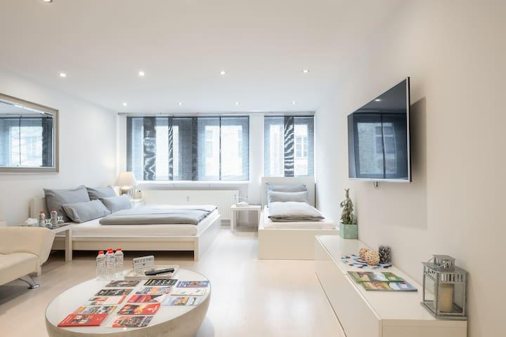 🎖Lisa's DeluXe Apartment für3 im Herzen der Stadt