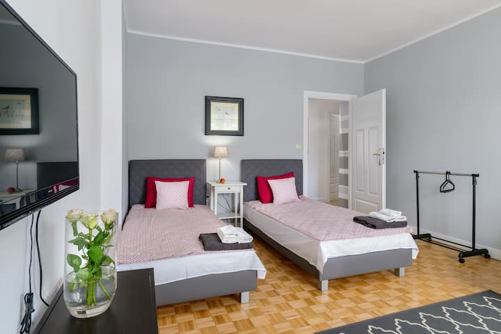 The new apartment is 51 sqm, the Market, parking