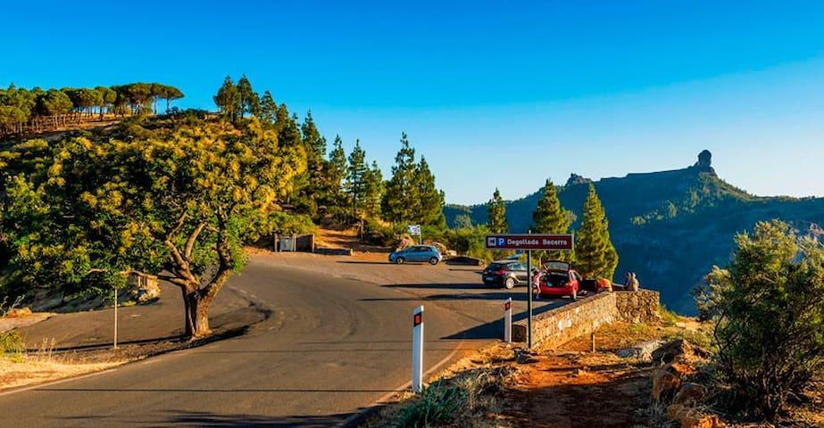 Apartamento en entorno rural mágico - Vega de San Mateo - Apartamento