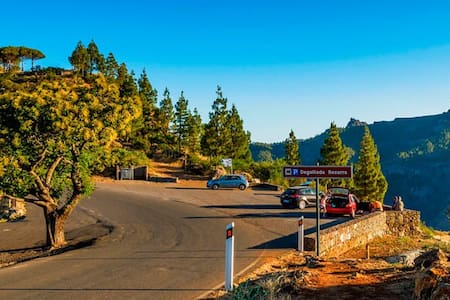 Apartamento en entorno rural mágico - Vega de San Mateo - Apartment