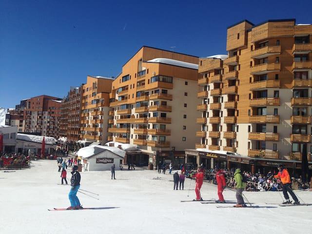 Studio Val Thorens ski aux pieds  - Saint-Martin-de-Belleville