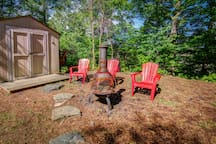 Fire Pit (I have 6 Adirondack Chairs)