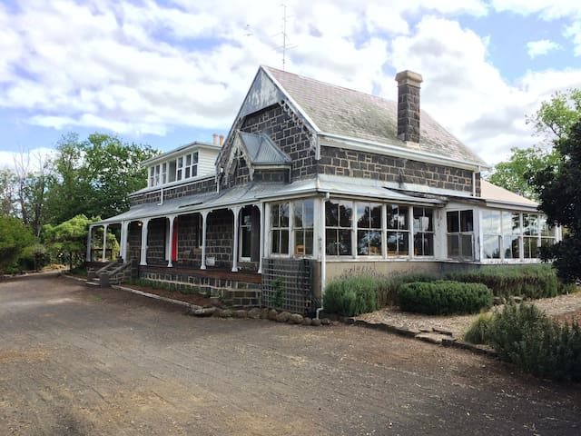 1860s Bluestone Country House - Birregurra - Casa