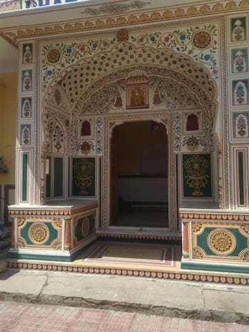Entire Haveli in Heritage town Samode near Jaipur - Samod - Ev