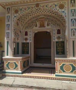 Entire Haveli in Heritage town Samode near Jaipur - Samod - Ház