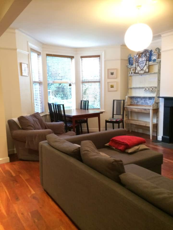 Beautiful, spacious apartment in central location