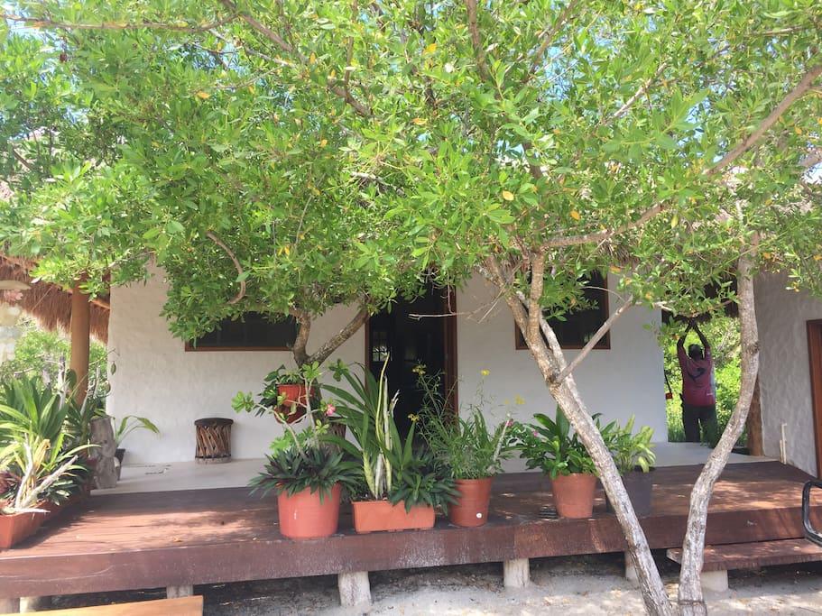 Casa de Luigi, camino a Punta Cocos,Holbox Quintana Roo, México