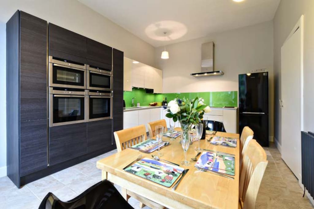 Cook up a storm in the recently modernised Dining Kitchen
