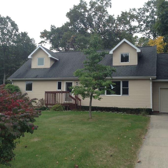 Two Story with walkout Basement and attached Garage