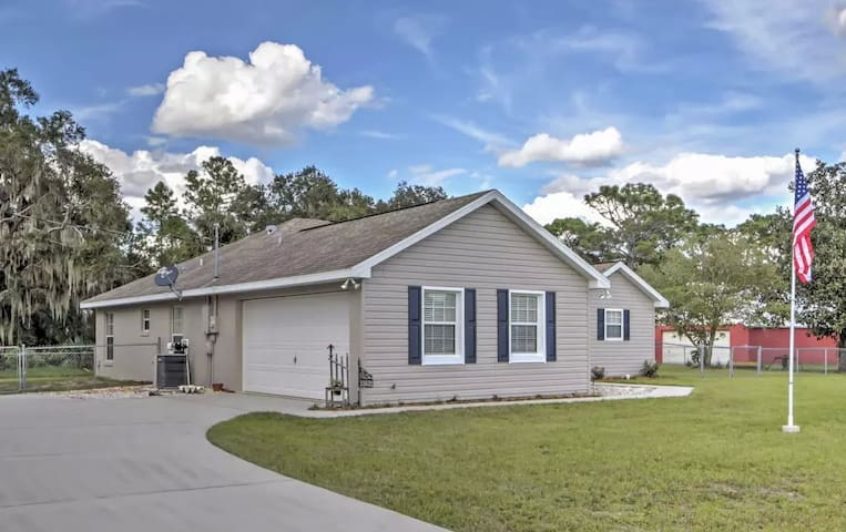 3BR Dunnellon House w/Private Fenced Yard - Dunnellon - Huis