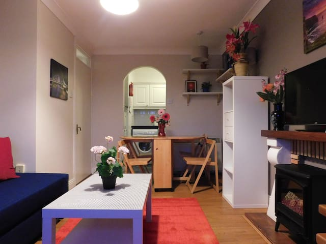Central 1 Bd Apt Wifi+TV+Lift nr O'Connell & Spire
