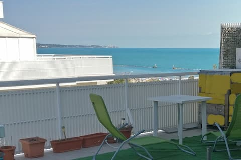 Attico con vista mare a San Salvo Marina
