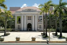 Puerto Rico Art Museum. Walking distance.  There's also the contemporary Arts (5 min. drive)  and the Ponce (1.5hr. drive) Museums.