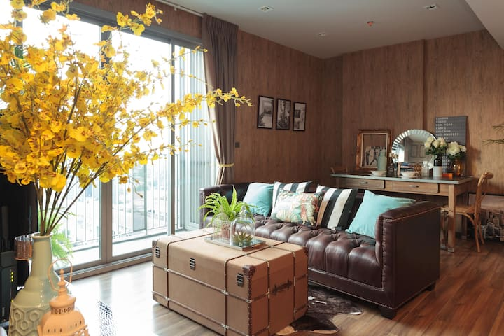 Stunning open house for 5pax  2bedrooms @Thonglor