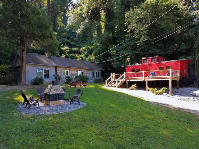 OPEN: Caboose & Cottage - In Town Fun