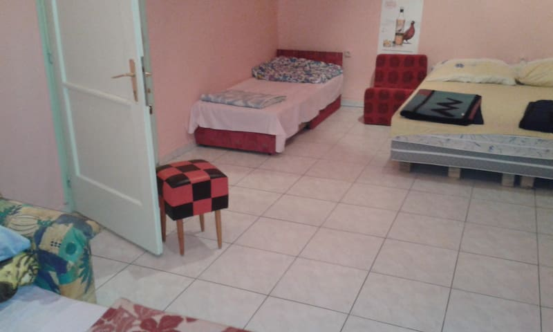 Our large 5 bed bedrooms.