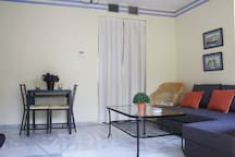 Very bright apartment in front of the center
