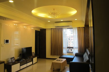 RoomA-New apt in Taipei(1 min to MRT by bike) - Sanchong District