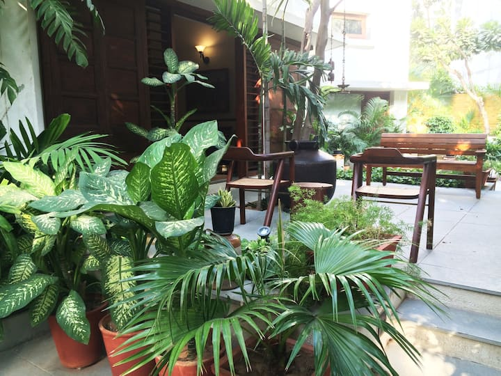 Oasis of Greenery & Serenity( Utelia House No.9)-4