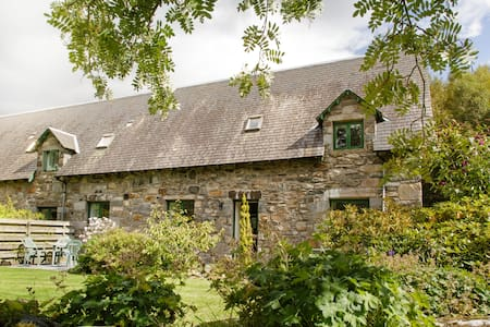 Family cottage near Aberfeldy (cycle-friendly) - Keltneyburn - Ev