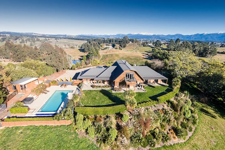 Blackwood Ridge - Panoramic luxury retreat - Mahana - House