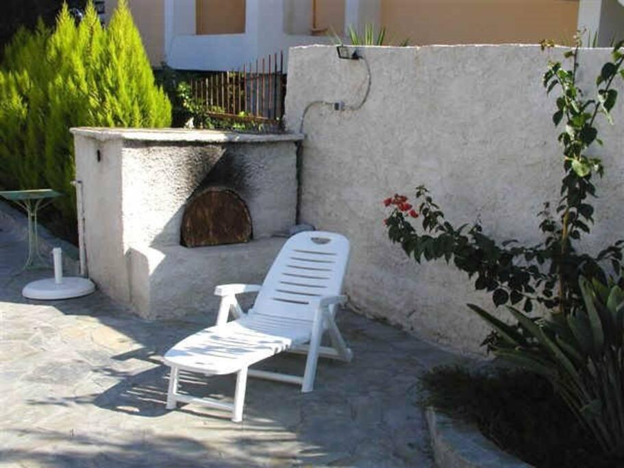 Gartengrundstück - Sitzplatz