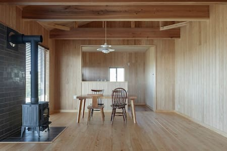 "Organic Wooden House ""YEBISU"" for Naturalist"