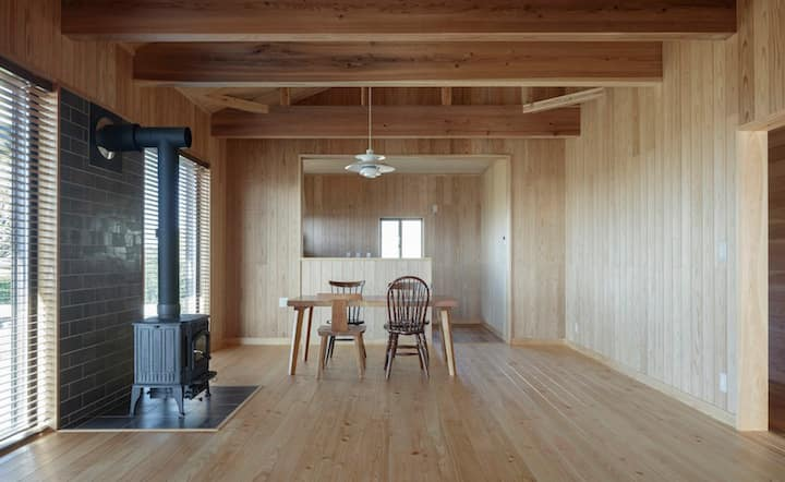 "Organic Wooden House ""YEBISU"" for Naturalist"