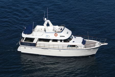 Yacht 56' for dockside or sea cruise - Vallauris