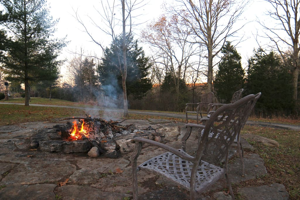 For warming, songs, and so much s'more!
