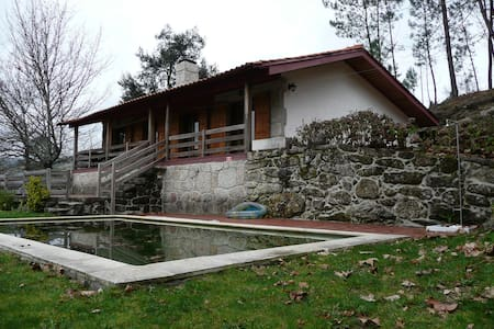 Rustic house with pool in a beautiful farm - Vieira do Minho - Haus