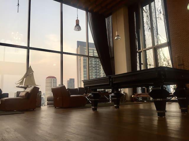 Amazing Condo in the Heart of Bangkok - Bangkok - Appartement en résidence